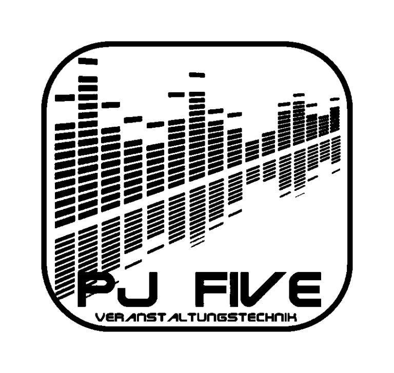 Logo PJ Five Veranstaltungstechnik Original SW 1